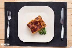 Lasagna alla bolognese at Cookbook Tavola Calda in Little Italy, San Diego.