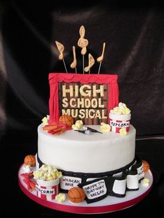 high school musical cake - Google Search