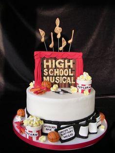 high school musical cake - Google Search