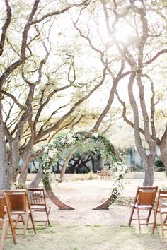 How to properly set up your wedding for a romantic wedding ceremony.