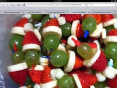 Grinch snackies