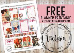 Vintage Valentine Planner Printable