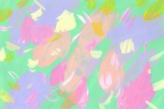 """Untitled"" (January 2015) A4 Acrylic on paper -Cecilie Karoline"