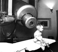The first patient to receive radiation therapy from the medical linear accelerator at Stanford was a 2-year-old boy with retinoblastoma (1956).
