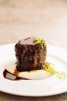 Minha visita ao Açougue Central - nova casa de carnes do chef Alex Atala - Músculo com pure de cará.