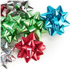 Peel 'N Stick Bows, 25-Count at Big Lots. top off your gifts with beauty#BigLots