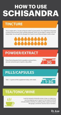 Schisandra Benefits Adrenals & Liver Detox - Dr. Axe