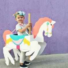 Carousel Horse Costume DIY