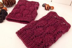 Lost in the Forest Mitts by Forest Flower Designs - free