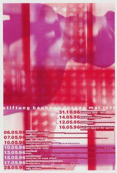 Cyan, Sophie Alex, Wilhelm Ebentreich, Detlef Fiedler, Daniela Haufe and Siegfried Jablonsky — Stiftung Bauhaus Dessau Mai 1996