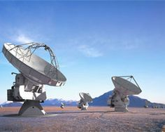 ALMA Telescopes. Very Large Array (VLA) of 27 antennas at the National Radio Astronomy Observatory.