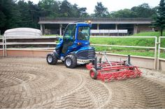 S630+ avec herse pour manège Lawn Mower, Agriculture, Outdoor Power Equipment, Lawn Edger