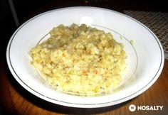 Káposztás rizs helena konyhájából Risotto, Ethnic Recipes, Food, Essen, Meals, Yemek, Eten