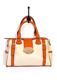 Apricot Like-A-Lot Barrel Bag $50