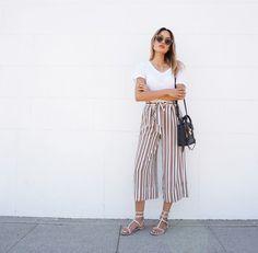Back To Basics: Ways To Wear A Plain White Tee | Fashion Fade Magazine