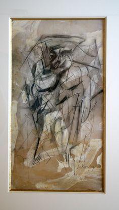 Willem de Kooning (1904-1997) Eind 1984 werd bij hem dementie vastgesteld en de kwaliteit van zijn werk werd minder, terwijl de waarde van zijn vroege werk steeg. Assistenten bereidden in die periode steeds meer voor, legden de schetsen die als voorstudies dienden klaar en gaven de kleuren aan. In 1985 kreeg De Kooning de National Medal of Arts toegekend, de hoogste kunstonderscheiding in de Verenigde Staten.