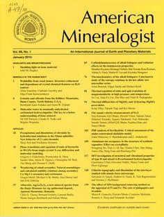 Публикации в журналах, наукометрической базы Scopus   American Mineralogist #American #Mineralogist #Journals #публикация, #журнал, #публикациявжурнале #globalpublication #publication #статья