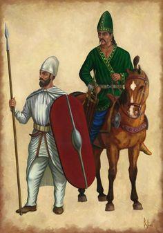 Parthian warriors by Dariusz Bufnal