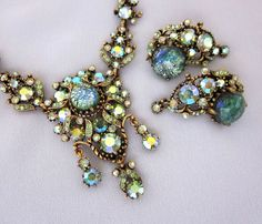 HOLLYCRAFT Jewelry Hollycraft Rhinestone Necklace by jryendesigns
