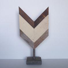 Medium Arrow Fletch Shelf Sculpture