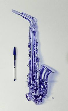 Biro Art, Ballpoint Pen Drawing, Realistic Pencil Drawings, Pencil Art Drawings, Pen Sketch, Art Sketches, Ballpen Drawing, Bic Pens, Photorealism