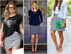 Desejo: Saia Listrada! Fast Fashion, Boho Fashion, Autumn Fashion, Fashion Outfits, Fashion Tips, 2016 Trends, Summer Trends, Surf Style, My Style