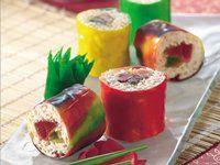 dessert sushi rolls... mmmmm