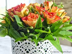 Roses for the weekend. http://eclectichamilton.blogspot.de/