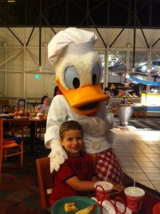Chef Mickey's Character Dining #Disney