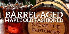 Barrel-Aged Maple Old Fashioned  Steve the Bartender's 365 days of Cocktails Day 17 @stevethebarman via @oldliquorsmaghttp://oldliquorsmagazine.com/snax_item/10436/?utm_content=buffera8bf5&utm_medium=social&utm_source=pinterest.com&utm_campaign=buffer