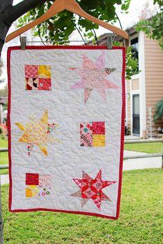 Kit's Quilt by Darci - Stitches, via Flickr