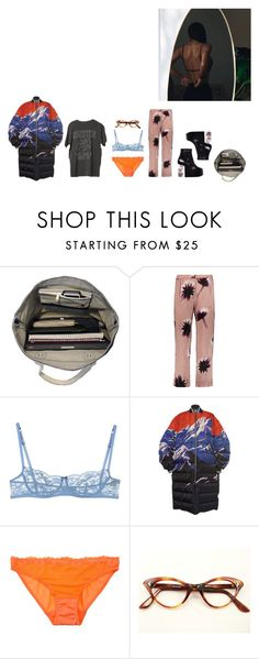 """""""it's getting colder and i'm luvin it"""" by kayi-tesi ❤ liked on Polyvore featuring Esperos, Nina Ricci, Ermanno Scervino Lingerie, Emilio Pucci and Timpa"""