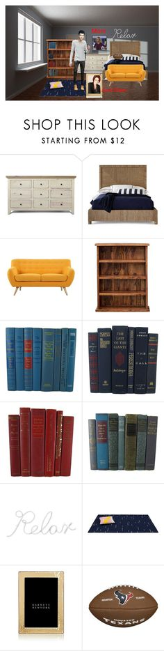 """""""Jeremiah and his roommates room (which is big)"""" by superherofan ❤ liked on Polyvore featuring Palecek, Madison, PBteen, ABOKI, TOMONARI, Polaroid and Tizo Design"""