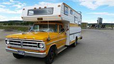 My 1971 Ford Mitchell Camper Truck- aka Funmobile