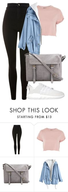 """""""Casual day outfits"""" by infinityqueen0000 on Polyvore featuring Topshop and adidas"""
