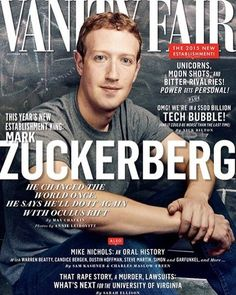 Happy birthday to @vanityfair cover star and #Harvard dropout #MarkZuckerberg who, turning just 32, has been a billionaire for nearly a decade. #facebook #zuckerberg #whatsapp #instagram #birthday #vanityfair