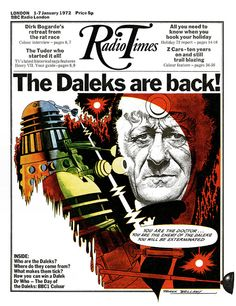 Radio Times Cover 1972-01-01 Doctor Who by combomphotos, via Flickr