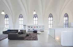 'Saint Jakobus Church' rehabilitation by the architects Zecc in Utrecht, Netherlands