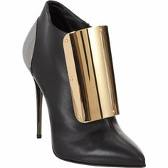 Giuseppe Zanotti Plated Ankle Boot / Barneys New York Bootie Boots, Shoe Boots, Ankle Boots, High Boots, Hot Shoes, Shoes Heels, Flats, Fendi, Giuseppe Zanotti Shoes