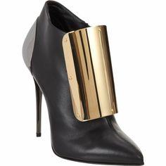 Giuseppe Zanotti Plated Ankle Boot at Barneys.com