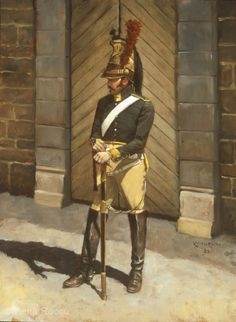 French Trooper, 23rd Dragoons 1813 (http://www.keithrocco.com/hmta/images/lg_french_dragoon.jpg)
