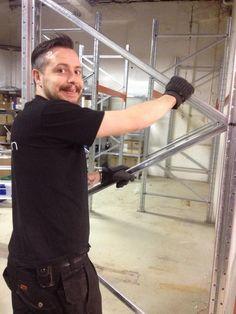 Martin på lageret
