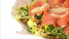 Sunday Brunch! Smoked Salmon and Frisee Carpaccio