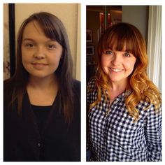 Transformation Ombre and cut I created on my beautiful client!