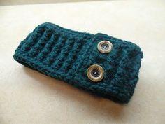Bag-O-Day Crochet & More: #Crochet Ribbed Ear Warmer Headband #TUTORIAL
