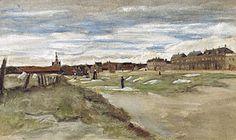 Bleaching Ground at Scheveningen, Vincent van Gogh, 1882