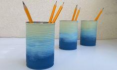Puszki jak malowane - Klinika DIY Toothbrush Holder, Diy, Craft Ideas, Crafts, Manualidades, Bricolage, Do It Yourself, Handmade Crafts, Craft