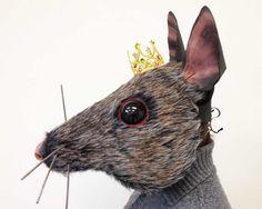 Mouse King head Nutcracker Ballet. Handmade by TentacleStudio                                                                                                                                                                                 More