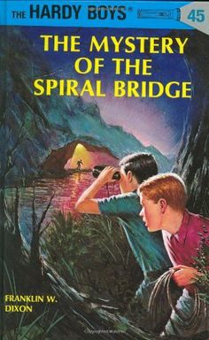 The Mystery of the Spiral Bridge (Hardy Boys, Book 45) by Franklin W. Dixon. $7.99. Reading level: Ages 8 and up. 192 pages. Publisher: Grosset & Dunlap; 1st edition (December 1, 1965). Author: Franklin W. Dixon