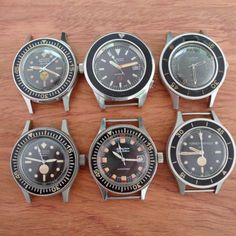 Vintage Blancpain 50 Fathoms.  Man, those are so freakin' cool!